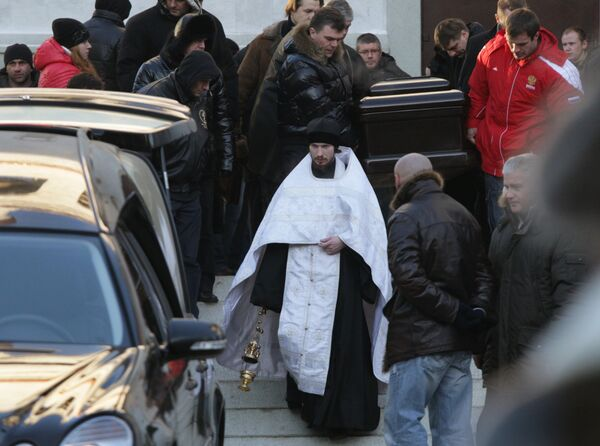 Прощание с шоуменом Владимиром Турчинским
