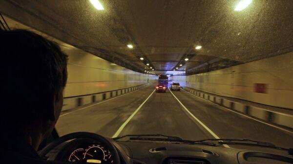 Движение по тоннелю. Архив