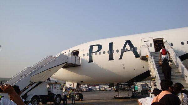 Самолет Pakistan International Airlines (PIA). Архивное фото