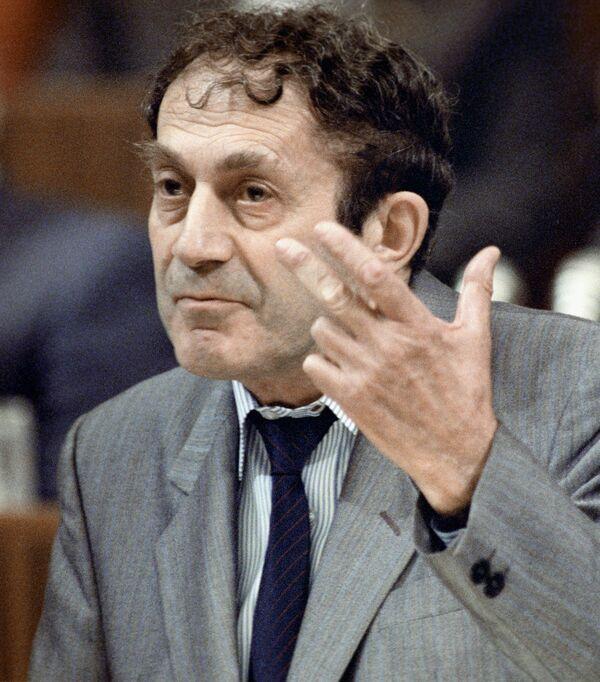 Главный редактор журнала «Знамя» Бакланов