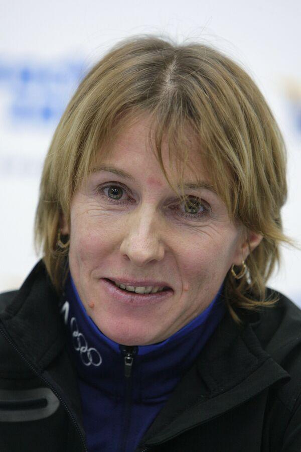 Лыжница Ольга Завьялова