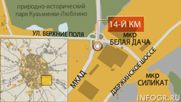 14-ый километр МКАД. Торговый центр МЕГА Белая дача