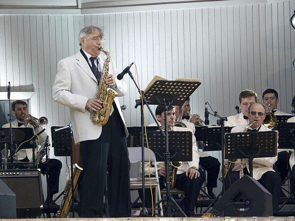 Выступление Г.Гараняна на джазовом фестивале в Москве