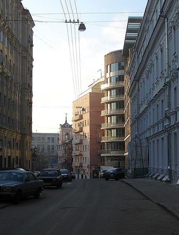 Брюсов переулок в Москве