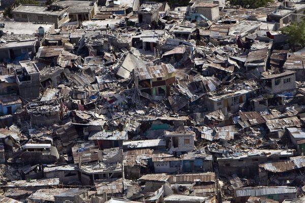 Последствия разрушительного землетрясения на Гаити