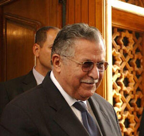 Экс-президент Ирака Джаляль Талабани