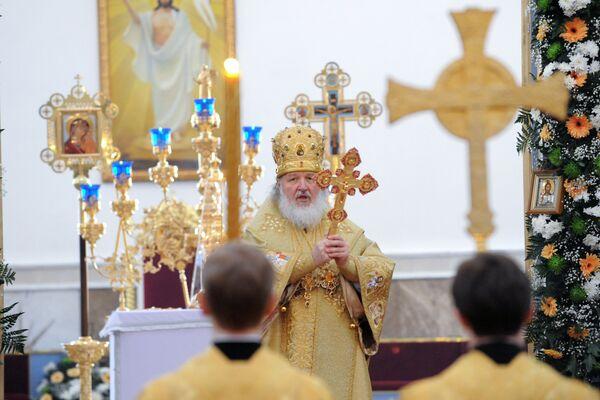 Визит Патриарха Московского и Всея Руси Кирилла в Казахстан