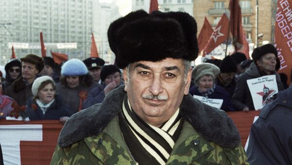 Внук Иосифа Сталина Евгений Джугашвили. Архив