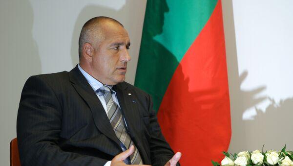 Председатель Совета Министров Республики Болгария Бойко Борисов. Архив