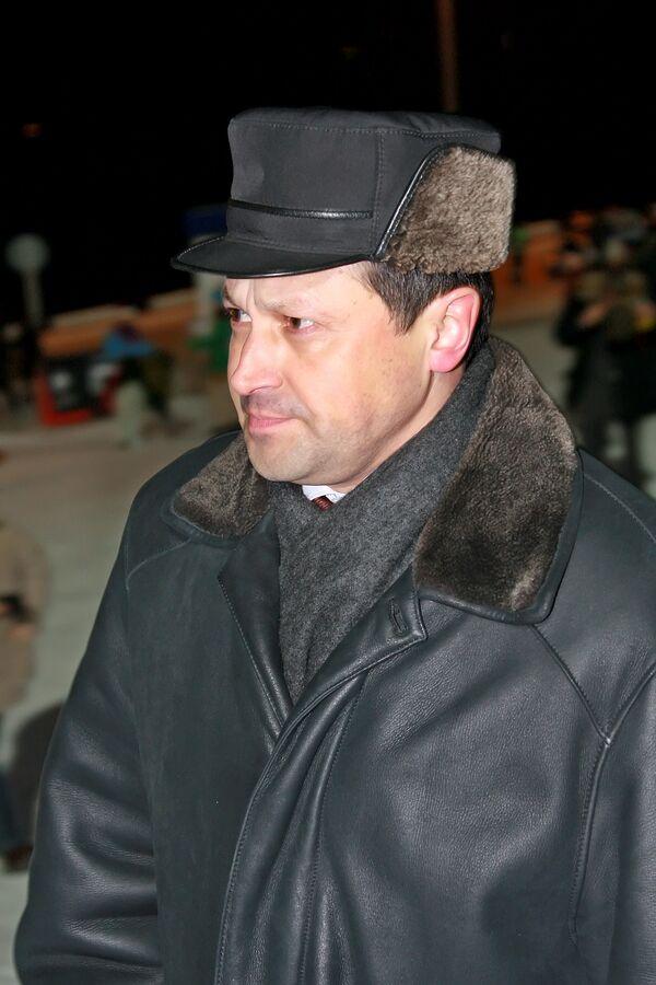 Председатель правительства Красноярского края Эдхам Акбулатов. Архив