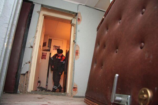 Взрыв бытового газа в жилом доме на юге Москвы