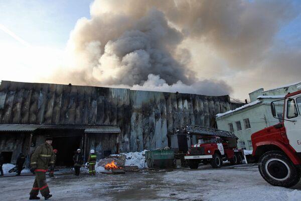 Следствие проводит проверку по факту взрыва на уральском заводе