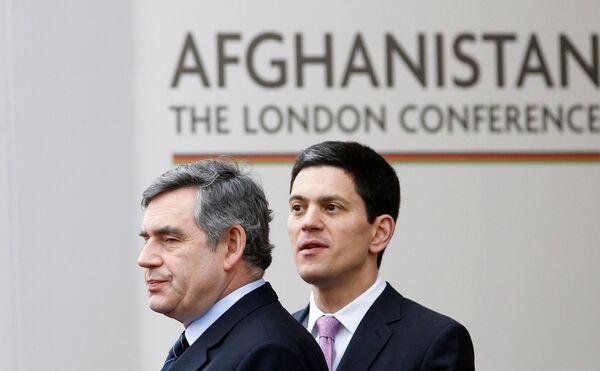 Международная конференция по Афганистану открылась в Лондоне