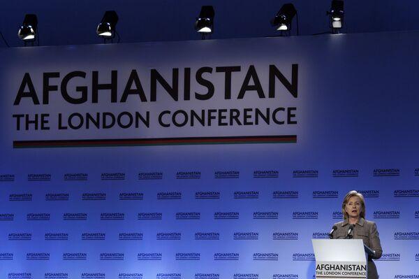 Международная конференция по Афганистану в Лондоне