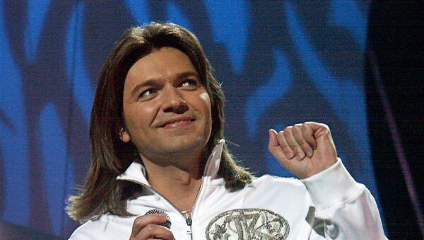 Эстрадный певец, музыкант, композитор Дмитрий Маликов