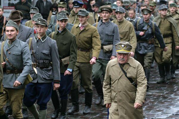 Во Львове состоялся Марш славы Украинской повстанческой армии к 67-й годовщине со дня создания УПА