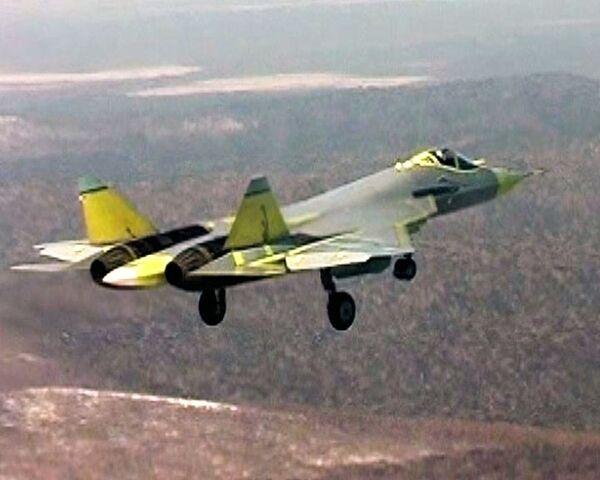 Первый полет истребителя пятого поколения Т-50
