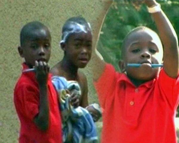 Баптисты пытались увезти гаитянских детей от живых родителей