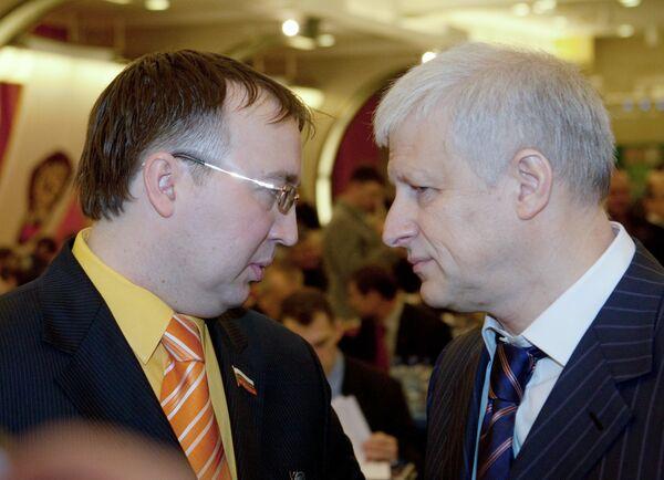 Сергей Кузьмин, Сергей Фурсенко