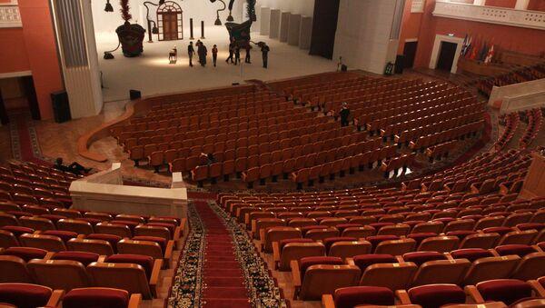 Театральный зал. Архив