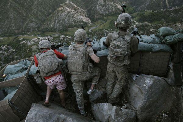 Американские солдаты в Афганистане. Дэвид Гаттенфельдер.