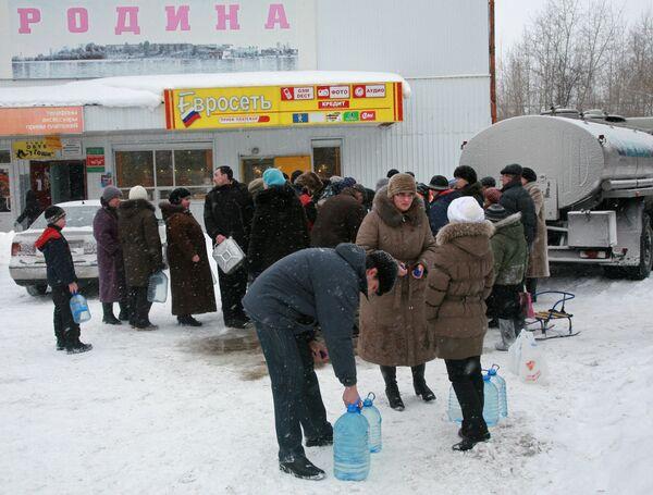 Продолжаются проблемы с водоснабжением в Краснокамске