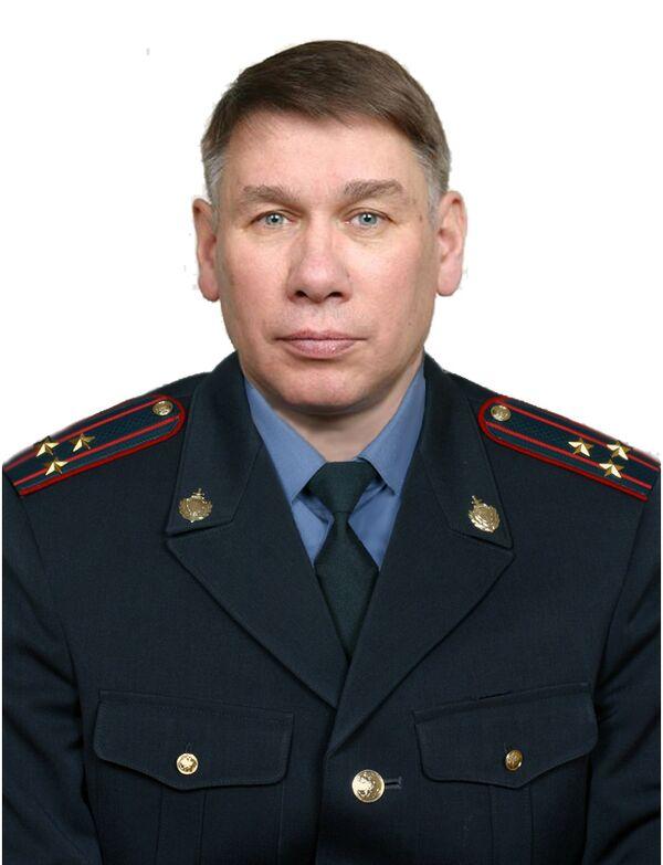 Заместитель начальника УВД по Центральному административного округу Москвы Юрий Быков
