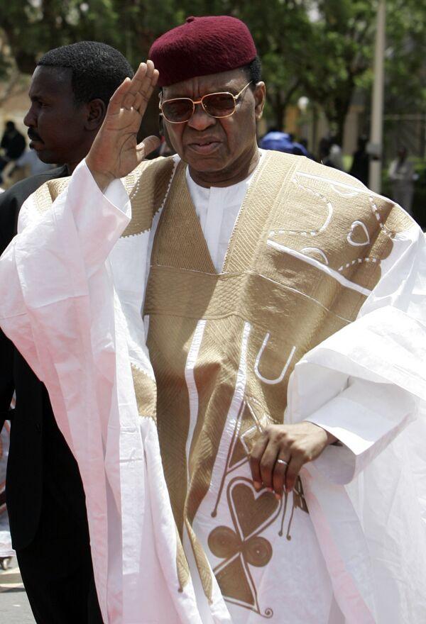 Президент Нигера Мамаду Танджа