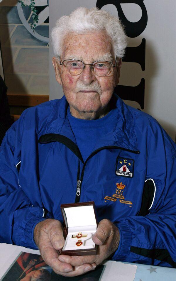 Канадский ветеран Первой мировой войны Джон Бэбкок