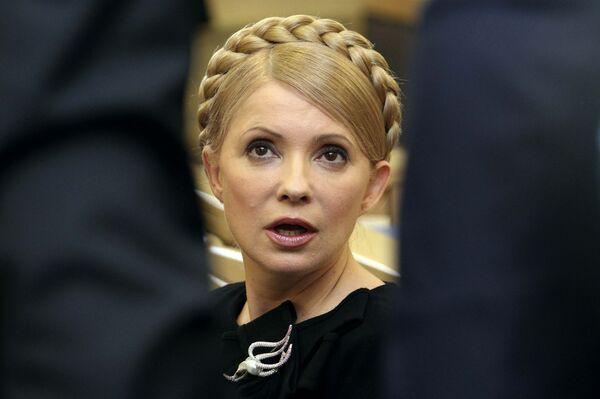 Юлия Тимошенко в Высшем административном суде Украины