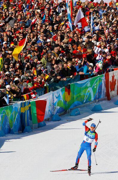 Олимпиада - 2010. Биатлон. Мужчины. Масс-старт. 15 км.