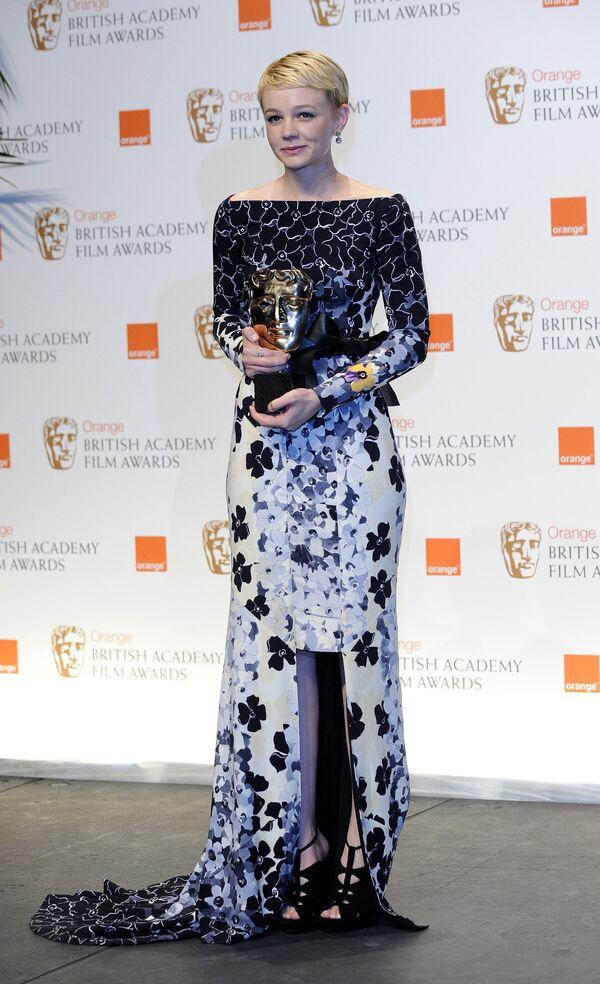 Кэри Маллиган на церемонии вручения премии BAFTA