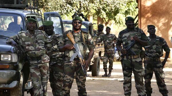 Солдаты армии Нигера