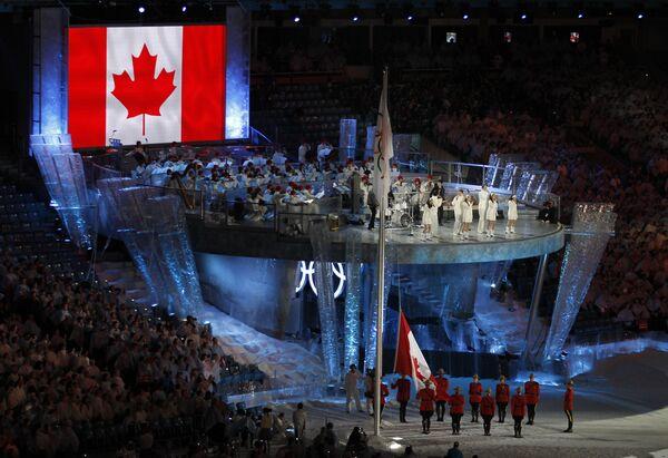 Церемония закрытия ХХI зимних Олимпийских игр