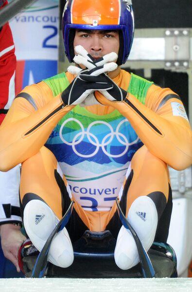 Олимпиада - 2010. Санный спорт. Мужчины