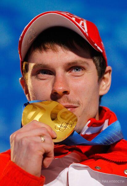 Олимпиада - 2010. Церемония награждения по итогам девятого дня