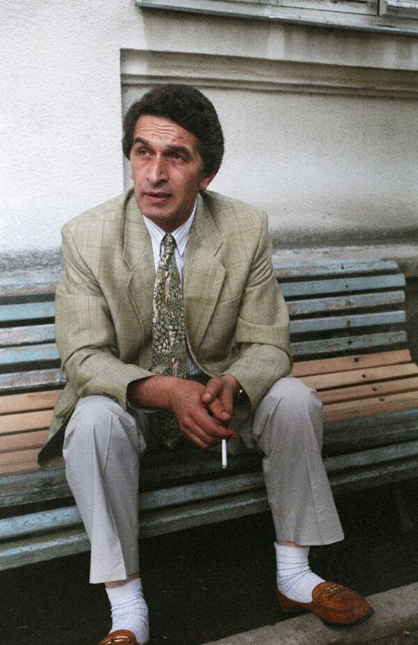 Первый президент Абхазии Владислав Ардзинба. Архив