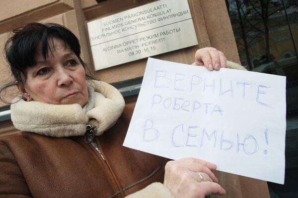 Людмила Войнова, бабушка Роберта Рантала. Архив.
