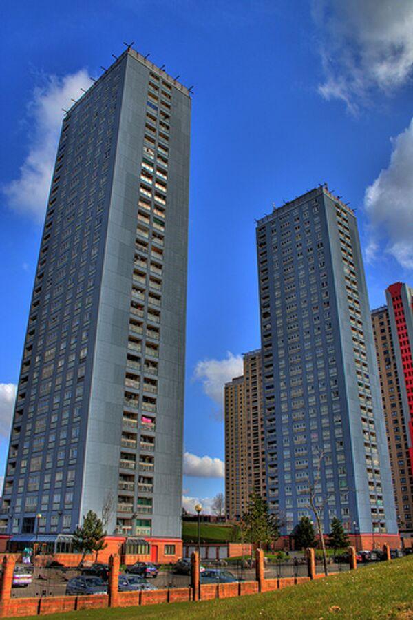 Жилой комплекс Red Road в Глазго