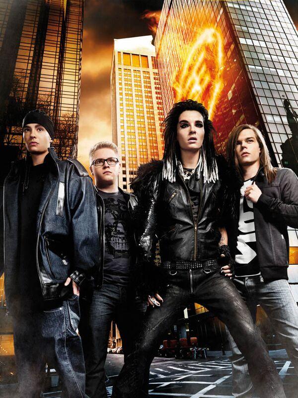 Немецкий рок-квартет Tokio Hotel