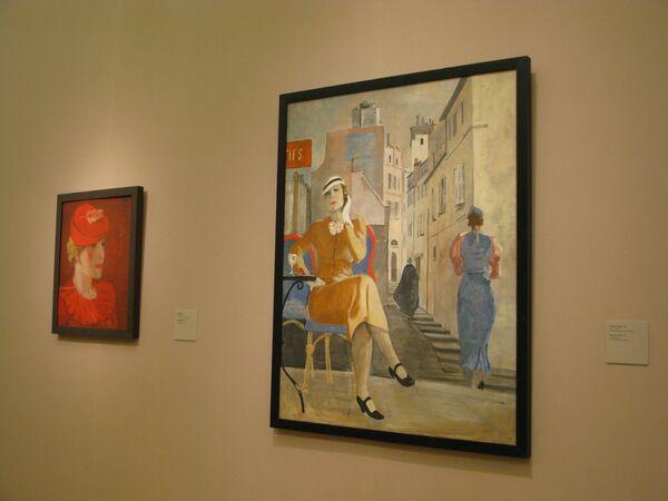 Выставка Александра Дейнеки в Третьяковской галерее на Крымском валу