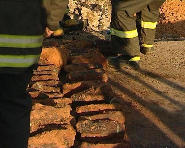 Свыше 900 снарядов времен войны найдено в жилом районе Москвы