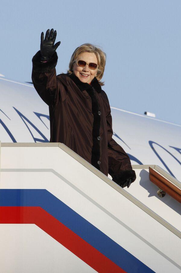 Визит Хилари Клинтон в Москву