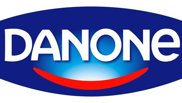 Логотип компании Danone. Архивное фото
