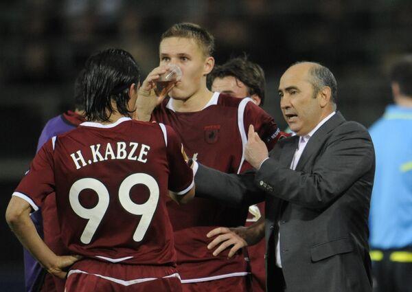 Хасан Кабзе, Александр Бухаров и Курбан Бердыев (слева направо)