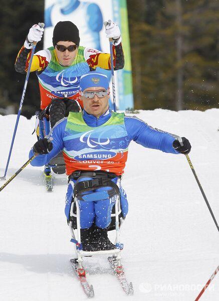 X Зимние Паралимпийские игры. Лыжные гонки. Мужчины. 1х4 + 2х5 км