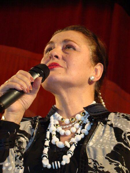 Народная артистка России Валентина Толкунова