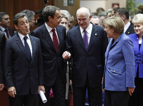 Лидеры стран еврозоны собрались на мини-саммит по помощи Греции