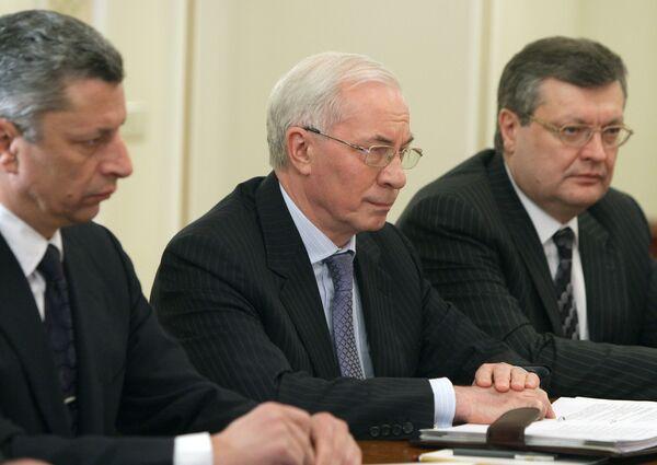 Председатель правительства Украины Николай Азаров. Архив