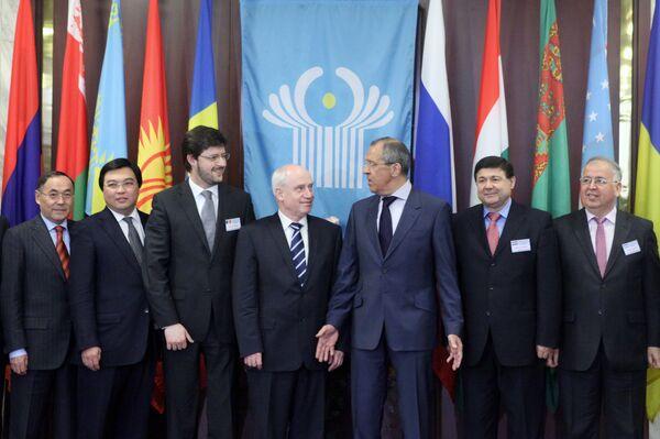 Заседание министров иностранных дел стран СНГ